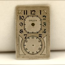Gruen Quadrante/Dial per Prince Anni '30-40 Indelebile