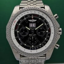 Breitling Bentley 6.75 Automatic Stainless Steel 49mm Black Dial