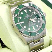 Rolex Submariner Hulk 116610lv Green Dial & Ceramic Bezel...