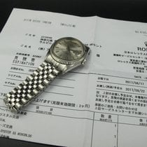 Rolex DATEJUST 1601 SS with Original Wide Boy Patina Dial with...