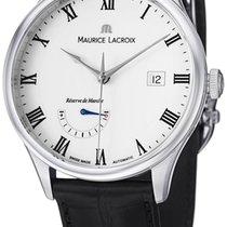 Maurice Lacroix Masterpiece Reserve De Marche Steel Mens Watch...