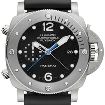 Panerai PAM00614 Luminor Submersible 1950 Titanium Men's