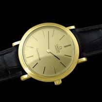 Omega 1980 Constellation Mens Vintage Quartz Watch - 18K Gold...