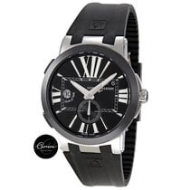 Ulysse Nardin Executive Dual Time GMT, Black Dial, Black Ceramic