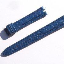 真力时 (Zenith) Croco Band Strap Blue 13 Mm 60/93 New Z13-15