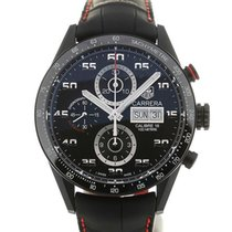 TAG Heuer Carrera 43 Black Chronograph Calibre 16