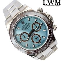 Rolex Daytona 116520 Blue Sky Platinum Dial Full Set
