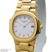 Patek Philippe Nautilus Lady Ref-4700/001 18k Yellow Gold Box...