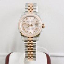Rolex Ladys Datejust 179171 Steel & Rose Gold Watch 2016...