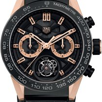 TAG Heuer Carrera Calibre HEUER 02T Tourbillon Chronograph...