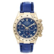 Rolex Cosmograph Daytona Men's 18k Yellow Gold Watch 116518