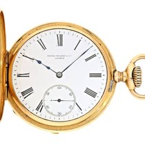 Patek Philippe Pocket watch: rare pink-gold  half-hunter...
