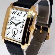 Patek Philippe 5024 Gondolo 18k Gold Manual Mens Watch &...