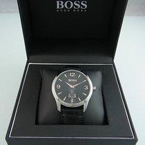 Hugo Boss Elegante Herrenuhr Mit Datum Anzeige Box Hb288.1.14....