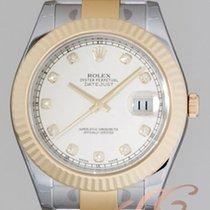 ロレックス (Rolex) パーペチュアル デイトジャストⅡ  メンズ アイボリー Datejust II Ivory
