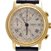 天梭 (Tissot) Tissot BRIDGEPORT T71343533 18k Yellow Gold on...