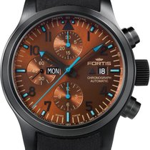 Fortis B-42 Blue Horizon 656.18.95.L Herrenchronograph Streng...