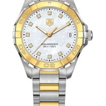 TAG Heuer AQUARACER 300M LADY 32MM GOLD, WHITE MOTHER OF PEARL...