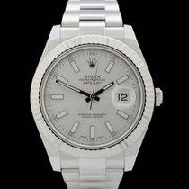 Rolex Datejust II - Ref.: 116334 - Silber/Index - Box/Papiere...