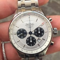 Paul Picot Gentleman Chrono GMT steel bracelet 42 mm