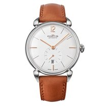 Fortis TERRESTIS Orchestra a.m. Steel Date Automatic Roman...