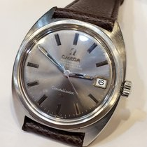 Omega Constellation Automatic Grey Dial Date Mens Watch