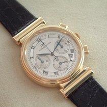IWC 18 Karat Gelbgold Da Vinci Damenuhr Chronograph Papiere