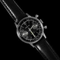 Breitling 1972 Vintage Panda Dial Pilot's Chronograph -...