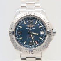 Breitling Colt 36mm Stainless Steel Blue Dial (Full Set)