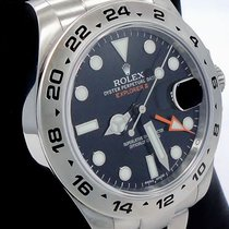 Rolex Explorer II 216570 Steel Black Dial 42mm Men's Watch...