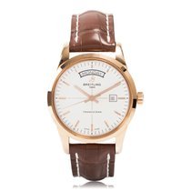 Breitling Transocean Day Date Automatic Mens Watch R4531012/G7...