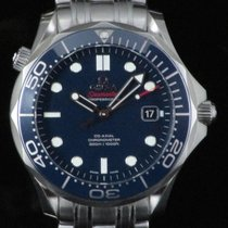 Omega Seamaster Co-Axial Ceramic Steel Automatic Full Set Like...