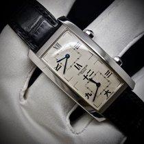 Cartier Tank Cintrée Dual Time Zone Collection Privée L. E.