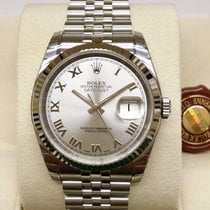 勞力士 (Rolex) Datejust Rhodium Roman Dial White Gold Bezel 36mm...