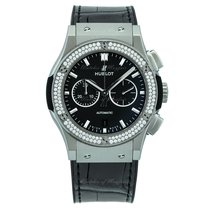 Hublot Classic Fusion Titanium Diamonds Chronograph 42mm