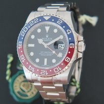 Rolex Oyster Perpetual GMT Master II BLRO White Gold NEW