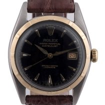 Rolex Datejust steel and gold Ref 6075