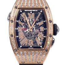 Richard Mille RM 37 Skeleton Dial Rose Gold Diamonds