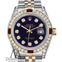 Rolex Womens Rolex S/steel & Gold 31mm Datejust Watch...