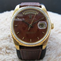롤렉스 (Rolex) 1985 ROLEX DAY-DATE 18038 18K GOLD WITH ORIGINAL...