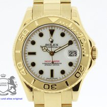 Rolex Yachtmaster Ladies Ref. 168628 18K Yellow Gold