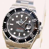 Rolex Sea-Dweller Red Keramik Stahl 126600 NEU LC100 NEU OVP