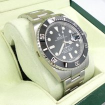 Rolex Submariner 116610 Date Steel Ceramic Bezel Watch Box...