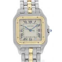 Cartier Midsize Cartier Panthere 1100 18K Yellow Gold & SS