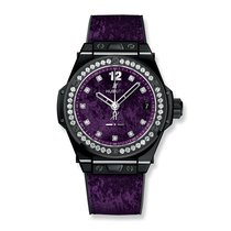 Hublot Big Bang One Click Italia Independent Purple Velvet...