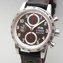 """Limes Chronograph """"Rallye"""" Limited Edition 99 Carbon -Box +..."""