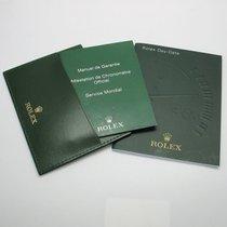 Rolex Day-Date Beschreibung / Mäppchen / Chronometer-Garantie