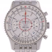 Breitling Montbrillant 01 Stahl Automatik Chronograph Stahlban...