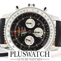Breitling Navitmer GMT Steel Watch 48mm - AB044121