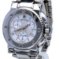 Aquanautic Bara Cuda Chronograph Steel Brilliants Pearl Dial...